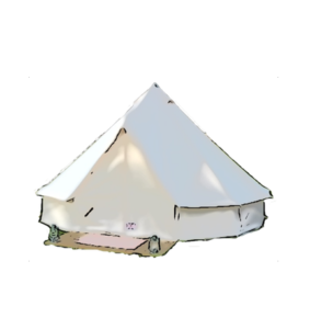 bell-tent-drawing